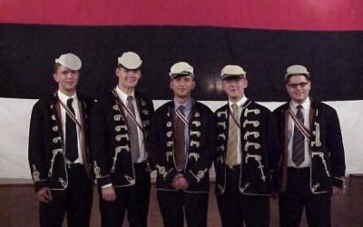 Corpsbrüder beim Stiftungsfest